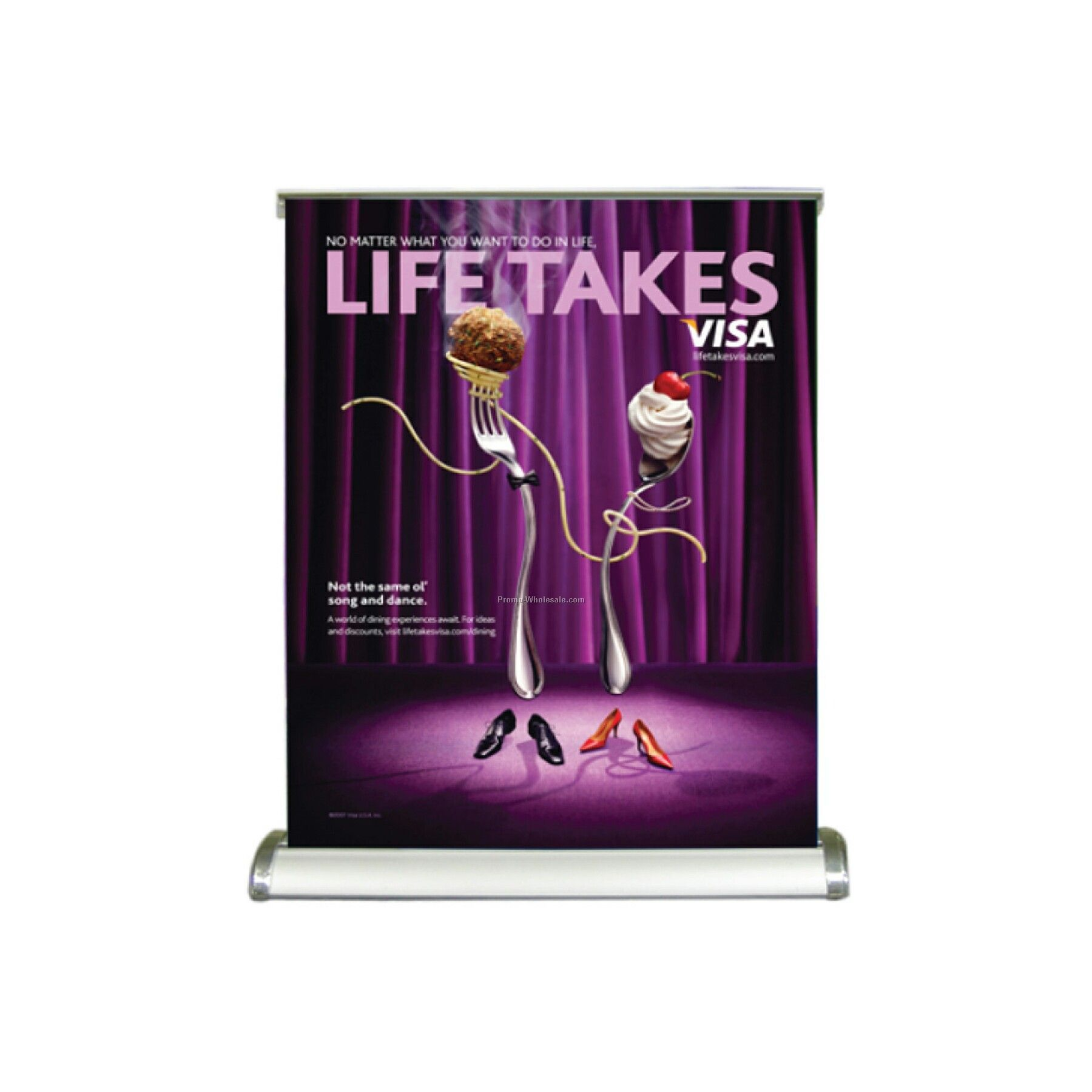 Large Retractable Banner