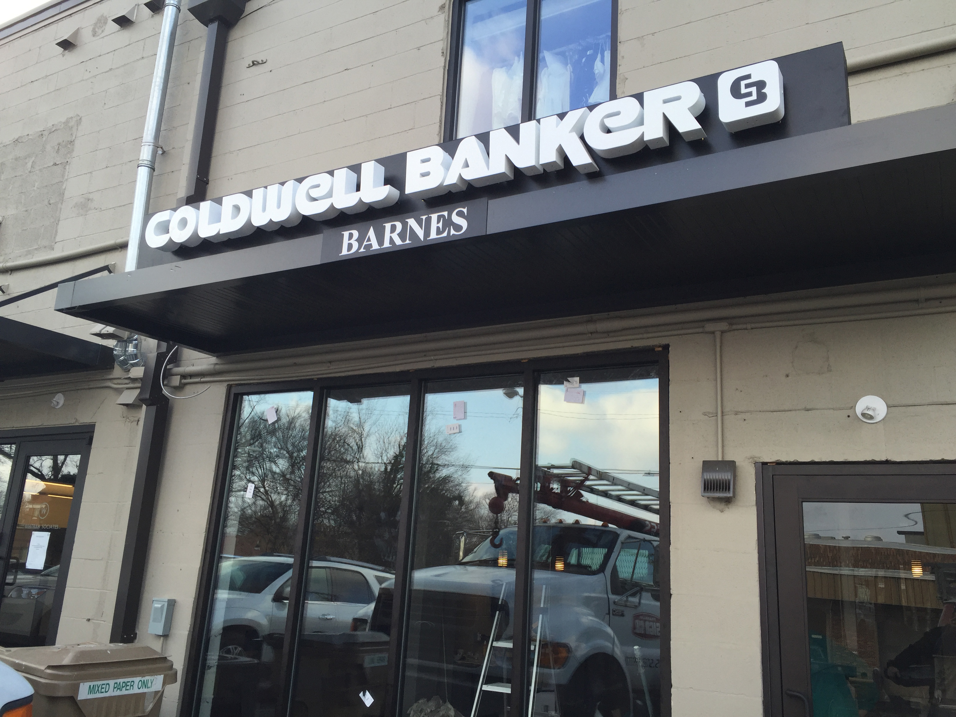 Reverse Lit Channel Letters - Franklin Sign Company