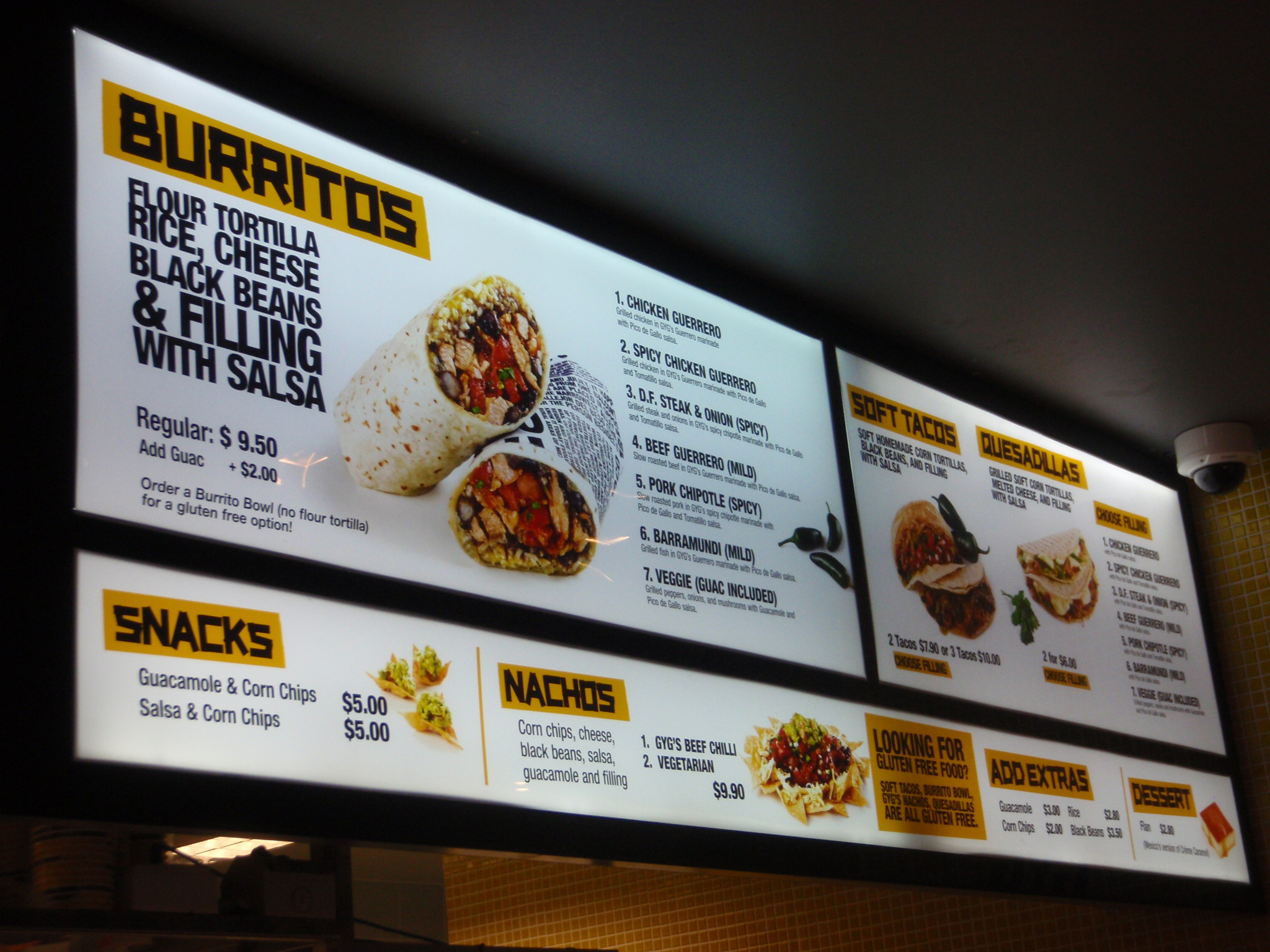 Menu Boards - Franklin Sign Company