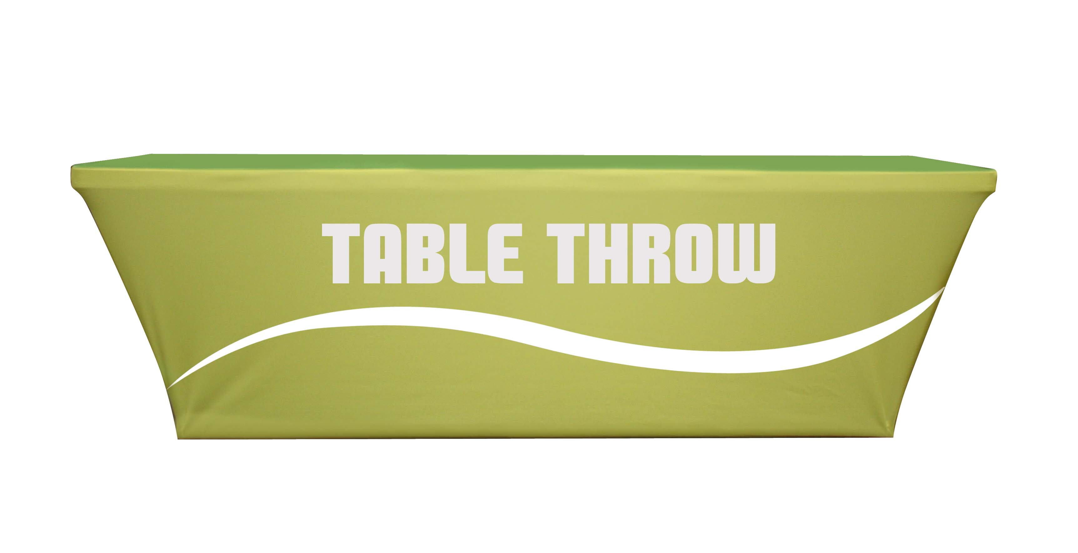 Table covers throws franklin sign company for Table th row